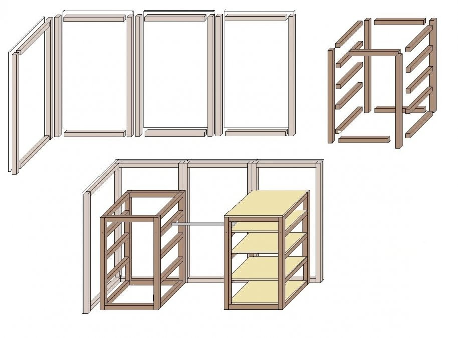 Begehbaren Kleiderschrank Selber Bauen  Wwwselberbauen von Begehbarer Kleiderschrank Selber Bauen Kosten Photo