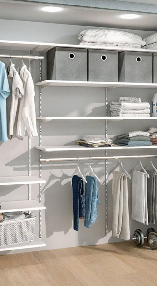 Begehbarer Kleiderschrank  Für Dachschräge Und Ankleidezimmer In von Regalsystem Kleiderschrank Selber Bauen Bild
