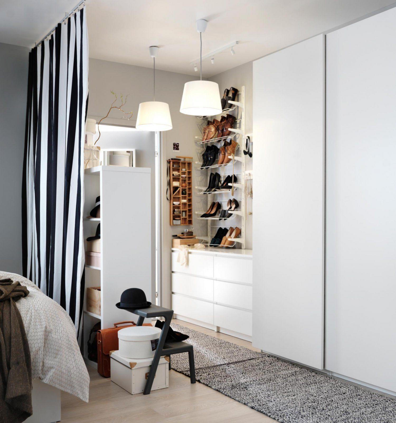 Begehbarer Kleiderschrank Für Kleines Zimmer Ikea von Begehbarer Kleiderschrank Kleines Schlafzimmer Photo