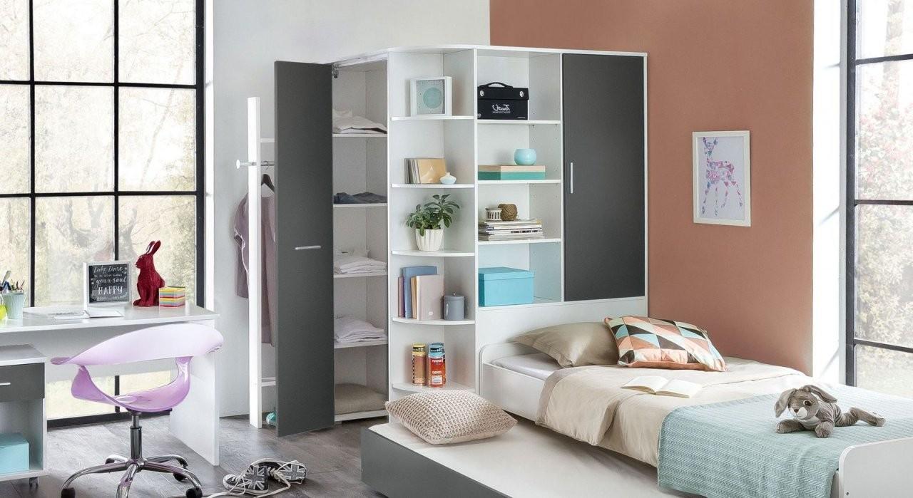 Begehbarer Kleiderschrank Mit Regalen Für Jugendliche  Facundo von Jugendzimmer Mit Begehbarem Schrank Photo