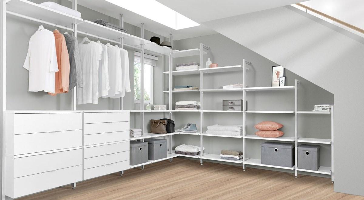 Begehbarer Kleiderschrank  Online Planen + Kaufen  Regalraum von Begehbarer Kleiderschrank System Günstig Photo
