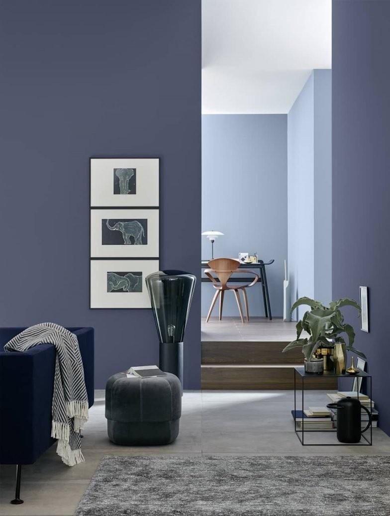 Belém – Architects' Finest Wohnzimmer Von Schöner Wohnenfarbe von Schöner Wohnen Farbe Petrol Bild
