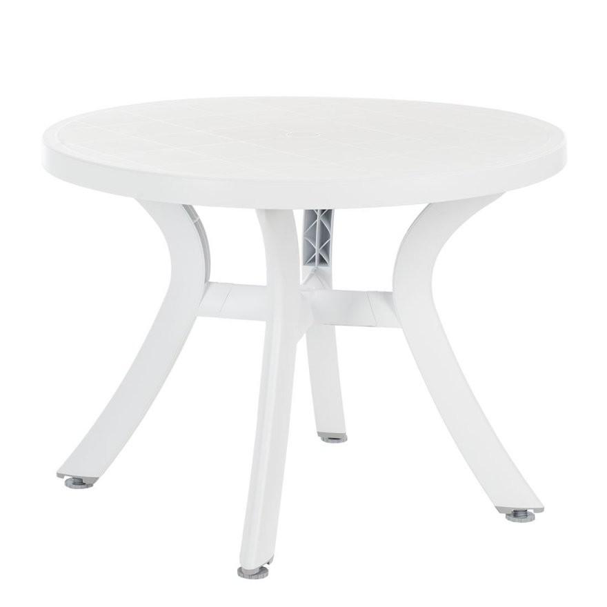 Best Freizeitmöbel Gartentisch – Für Ein Modernes Zuhause  Home24 von Gartentisch Rund Kunststoff Weiß Bild