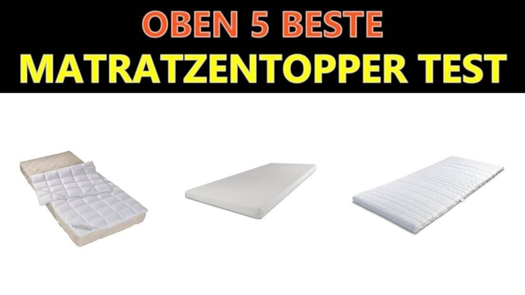 Beste Matratzentopper Test 2019  Youtube von Memory 6 Breckle Visco Topper Bild