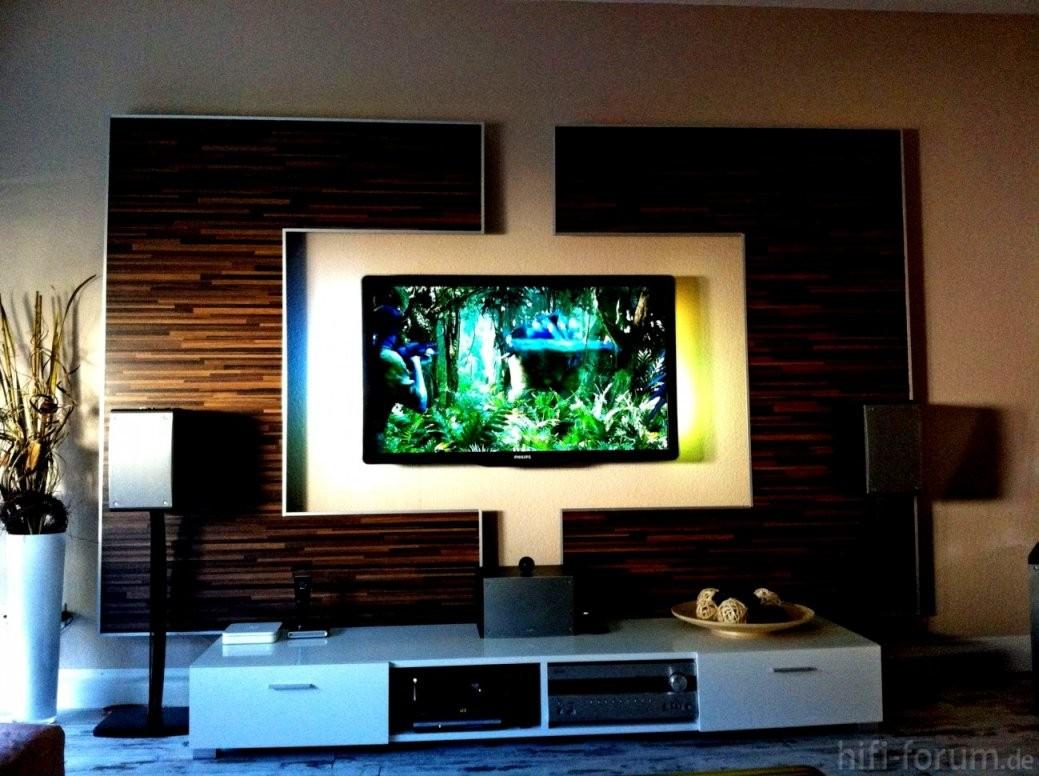 Beste Wohnwand Selber Bauen Ideen Wohnzimmer Tv Wand Front von Wohnwand Selber Bauen Ideen Bild