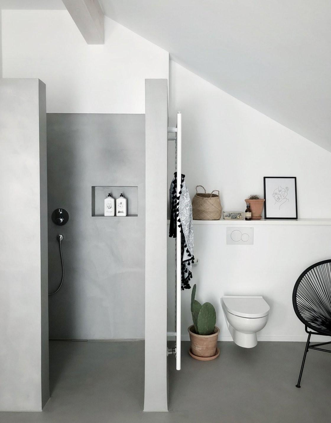 Beton Ciré Tolle Ideen Mit Dem Effektputz In Betonoptik von Möbel In Betonoptik Streichen Bild