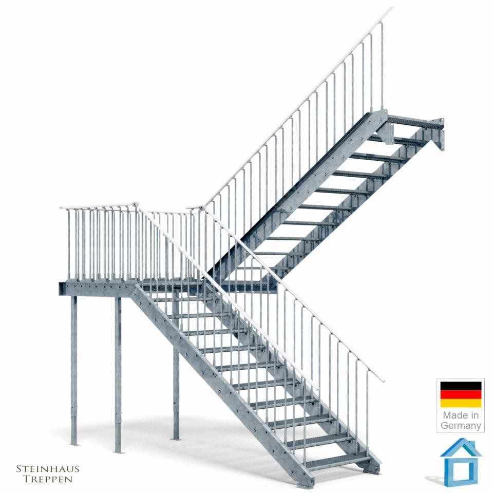 Beton Cire Treppe Home Treppenhaus Beste Treppe Mit Podest  Capnhat von Treppe Mit Podest Berechnen Photo