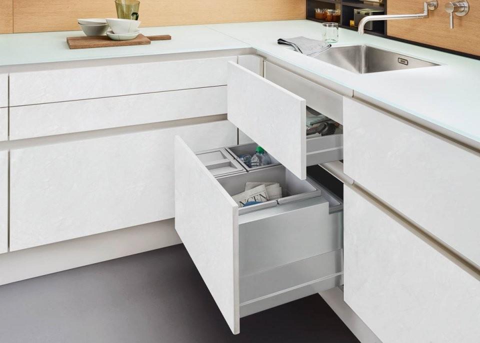 Betonküchen Im Vergleich Bilder Von Nobilia Alno Nolte Und von Weiße Küche Mit Weißer Arbeitsplatte Photo