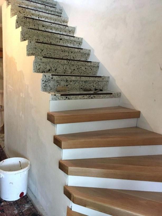 Betontreppe Sanieren Treppenrenovierung Mit Laminatstufen von Alte Treppen Neu Gestalten Photo