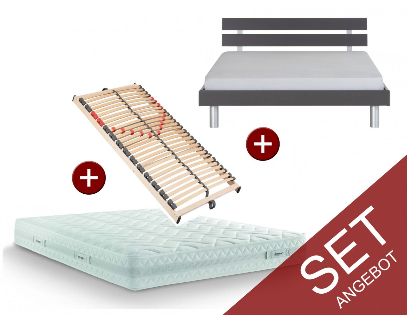 Bett 140 Anthrazit Komplett Günstig Kaufen Online Günstig Kaufen von Bett Komplett Günstig Kaufen Bild