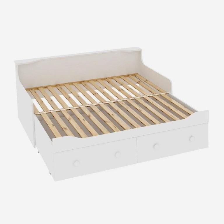 Bett Ausziehbar Gleiche Höhe Schick Bett Ausziehbar Gleiche Hohe von Ausziehbares Bett Gleiche Höhe Bild