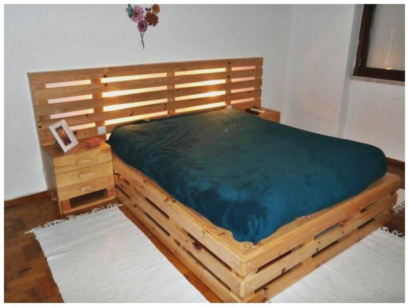 Bett Kopfteil Holz Selber Bauen  Bett Ideen von Bett Aus Holz Selber Bauen Photo