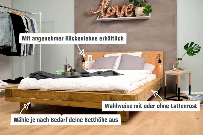 Bett Ludwig Selber Bauen  Betten  Obi Selbstbaumöbel von Lattenrost 140X200 Selber Bauen Bild