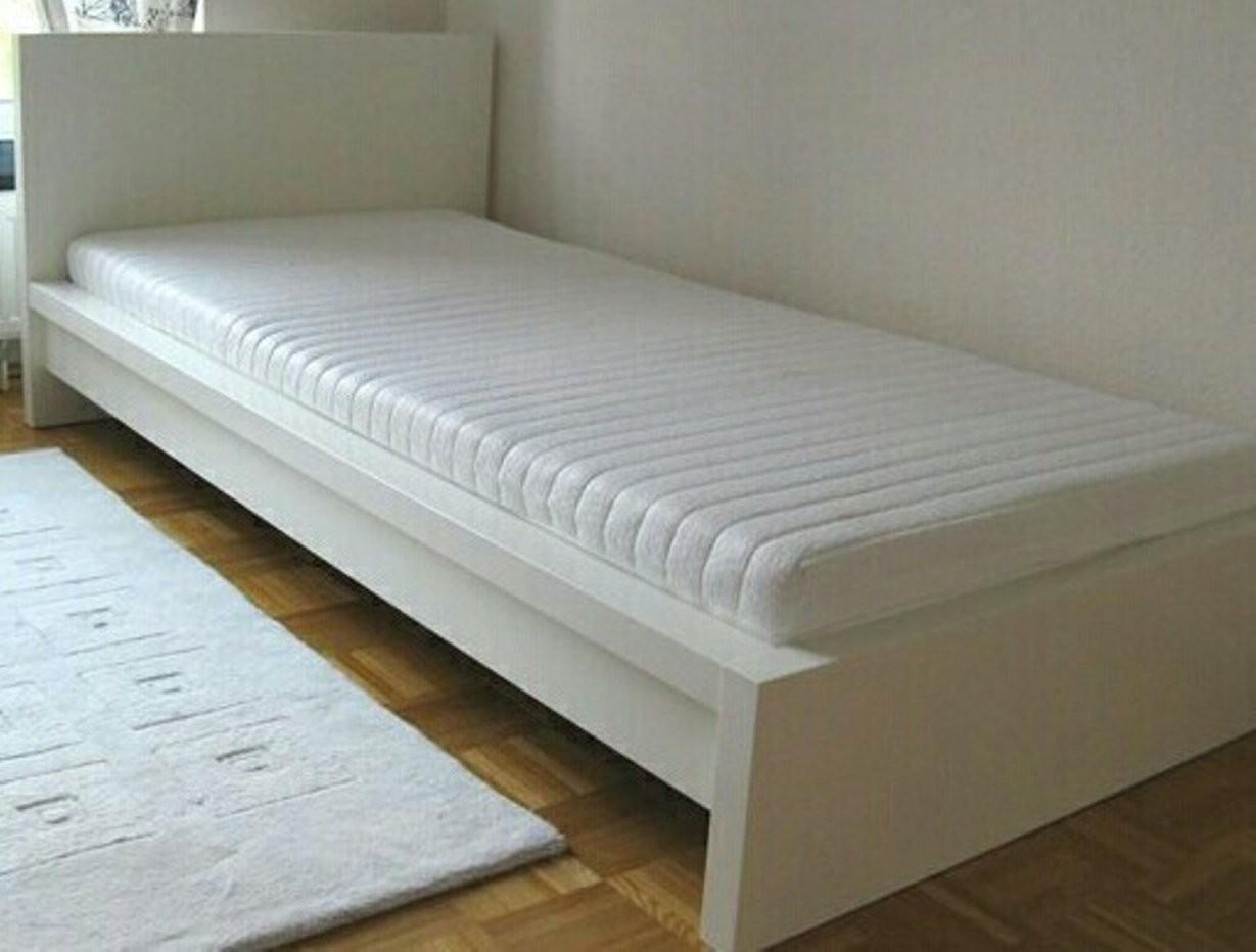 Bett Malm Ikea In Weiß 140×200 Mit Rolllattenrost Nord Hamburg 72 von Ikea Malm Bett 90X200 Photo