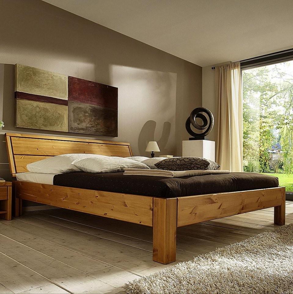 Bett Massiv 180X200 von Doppelbett Kiefer Massiv 180X200 Bild