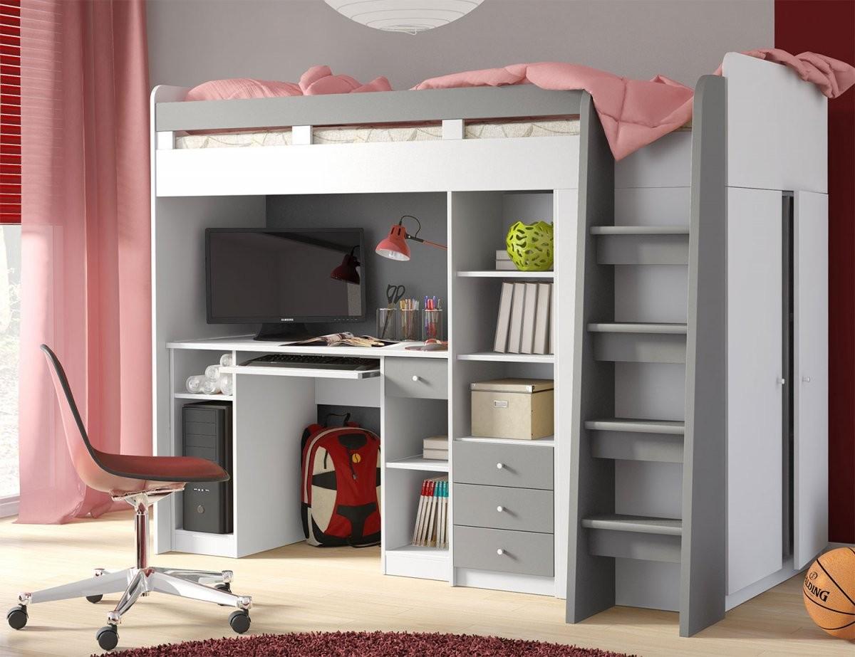 Bett Mit Schrank Und Schreibtisch Neu Hochbett Etagenbett Bett von Bett Mit Schreibtisch Und Schrank Photo