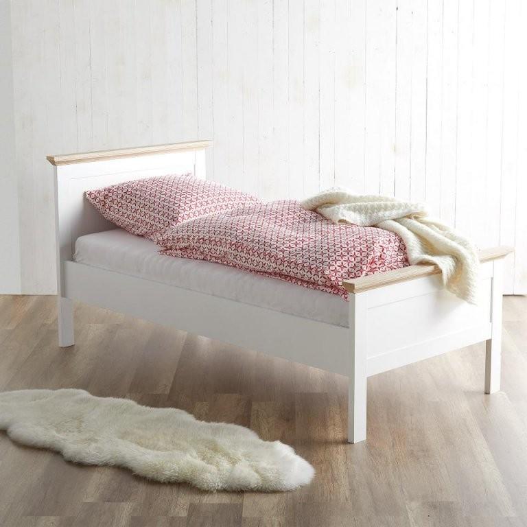 Bett Pariso (90X200 Twotone)  Dänisches Bettenlager von Metallbett 90X200 Dänisches Bettenlager Bild