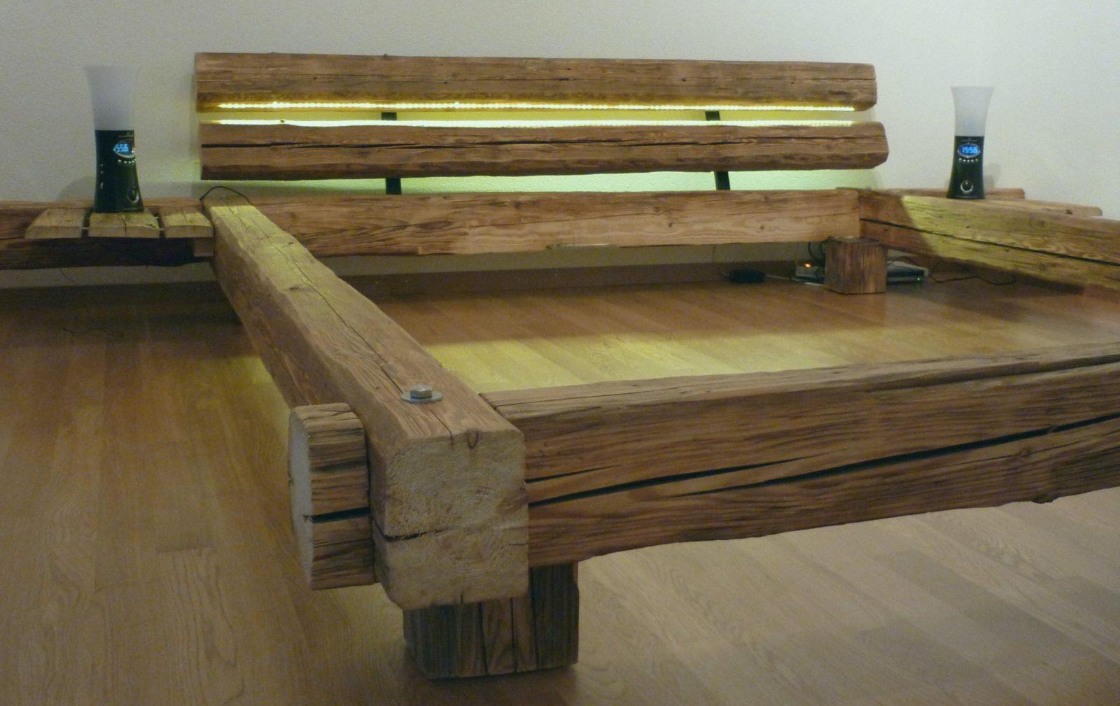 Bett Selber Bauen Einfach 90X200 Hochbett Selber Bauen Mit Ikea Bett von Hochbett Selber Bauen 90X200 Bild