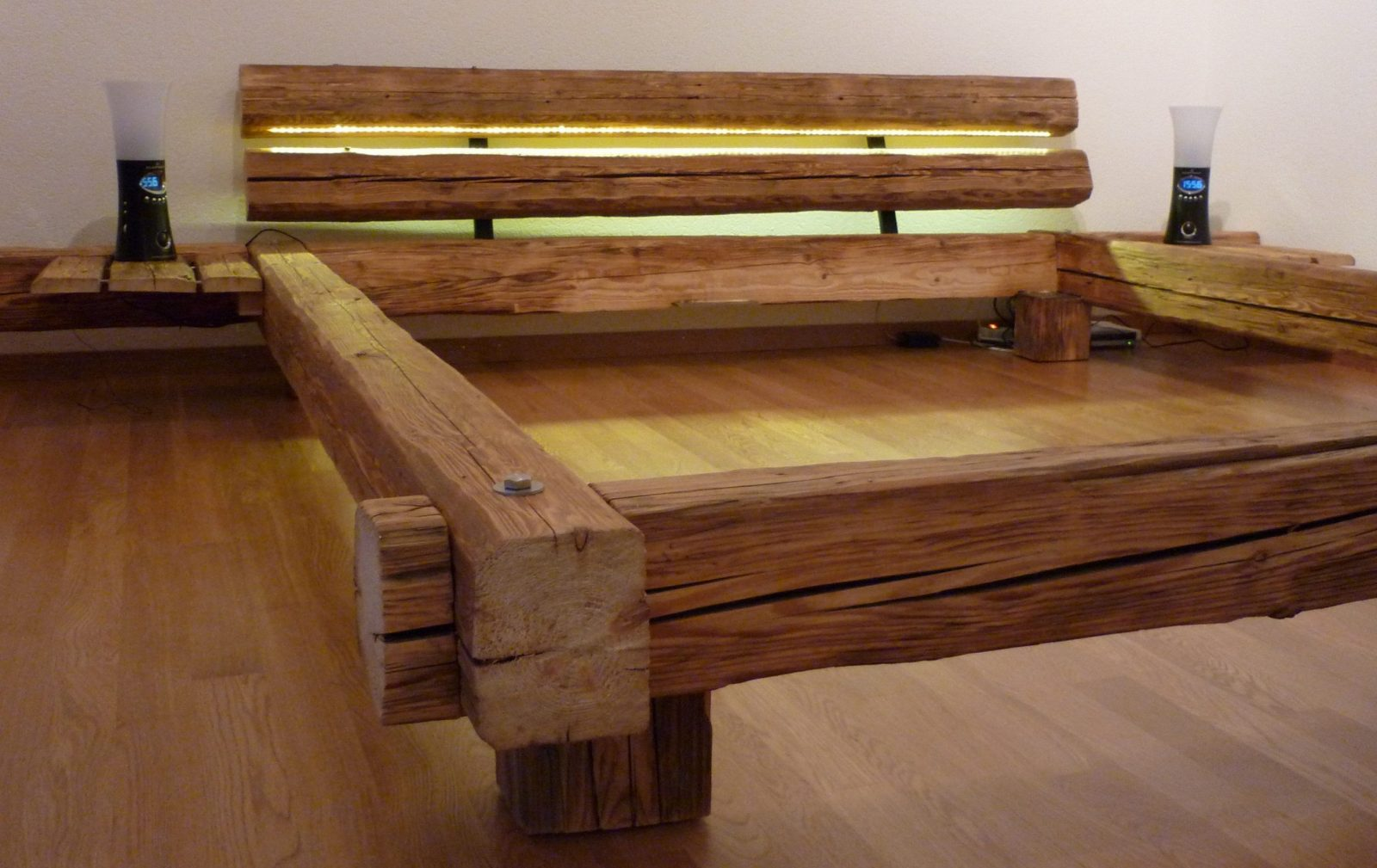 Bett Selber Bauen Für Ein Individuelles Schlafzimmerdesign Selber von Bett Aus Holz Bauen Bild
