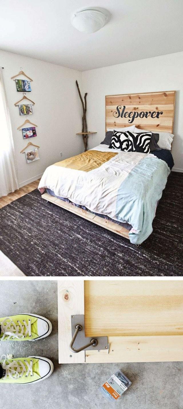 Bett Selber Bauen12 Einmalige Diy Bett Und Bettrahmen Ideen von Bett Selber Bauen Holz Photo