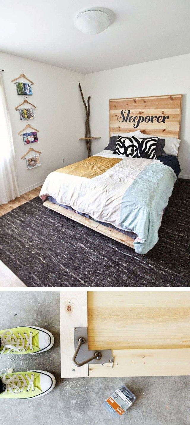 Bett Selber Bauen12 Einmalige Diy Bett Und Bettrahmen Ideen von Platzsparendes Bett Selber Bauen Photo
