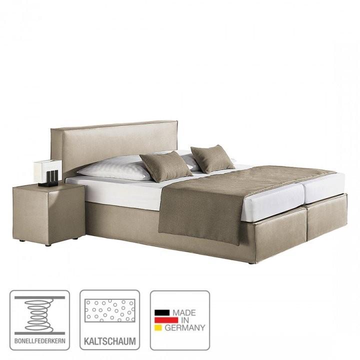Bett Von Monaco Bei Home24 Kaufen  Home24At von Boxspringbett Santa Barbara - Grau - 180X200 Cm Bild