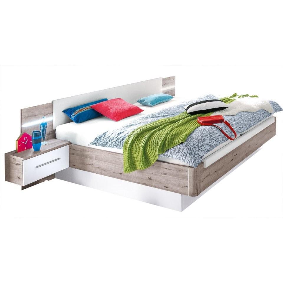 Bettanlage Utah Sandeiche Nachbildungweiß Ca 180 X 200 Cm  Möbel Boss von Möbel Boss Betten 140X200 Bild