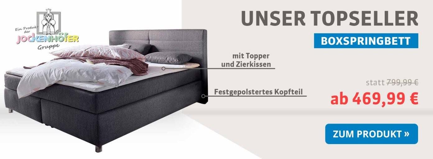 Betten Online Kaufen  Schlafen Sie Besser  Schlafwelt von Boxspringbett Mit Bettkasten Otto Bild