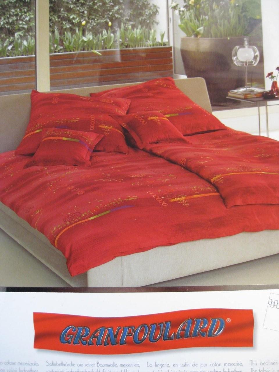 Bettwäsche Bassetti 155X220 Cm Lahore V1 Makosatin Garnitur von Bettwäsche Bassetti 155X220 Bild