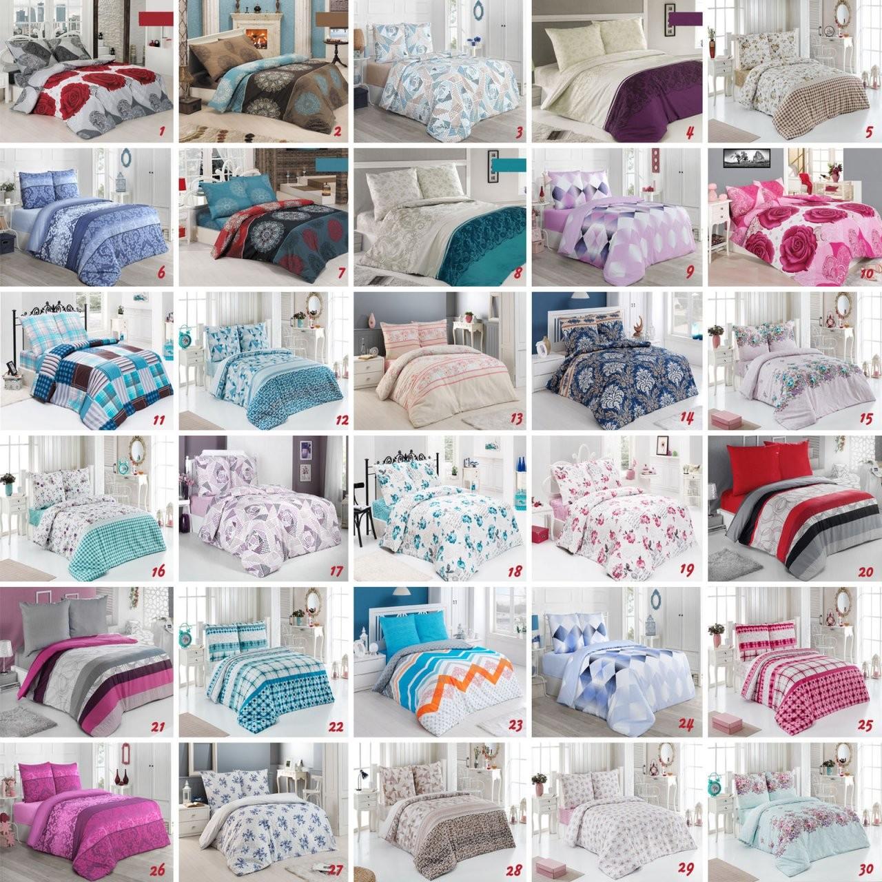 Bettwäsche Baumwolle 135X200  200X200  200X220 23 Teilig von Bettwäsche 200X220 Günstig Bild