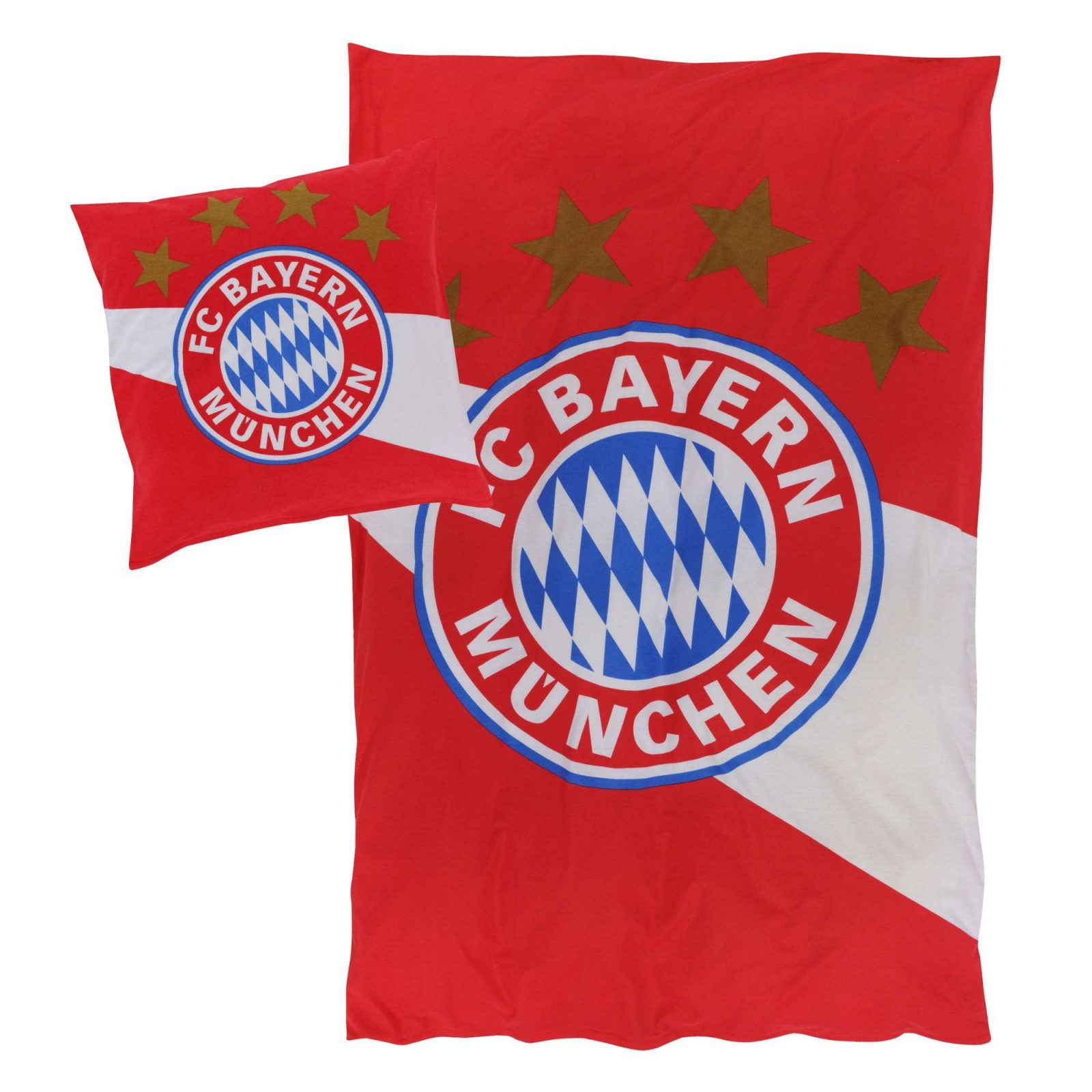 Bettwäsche Biber  Offizieller Fc Bayern Fanshop von Bayern München Bettwäsche Biber Photo