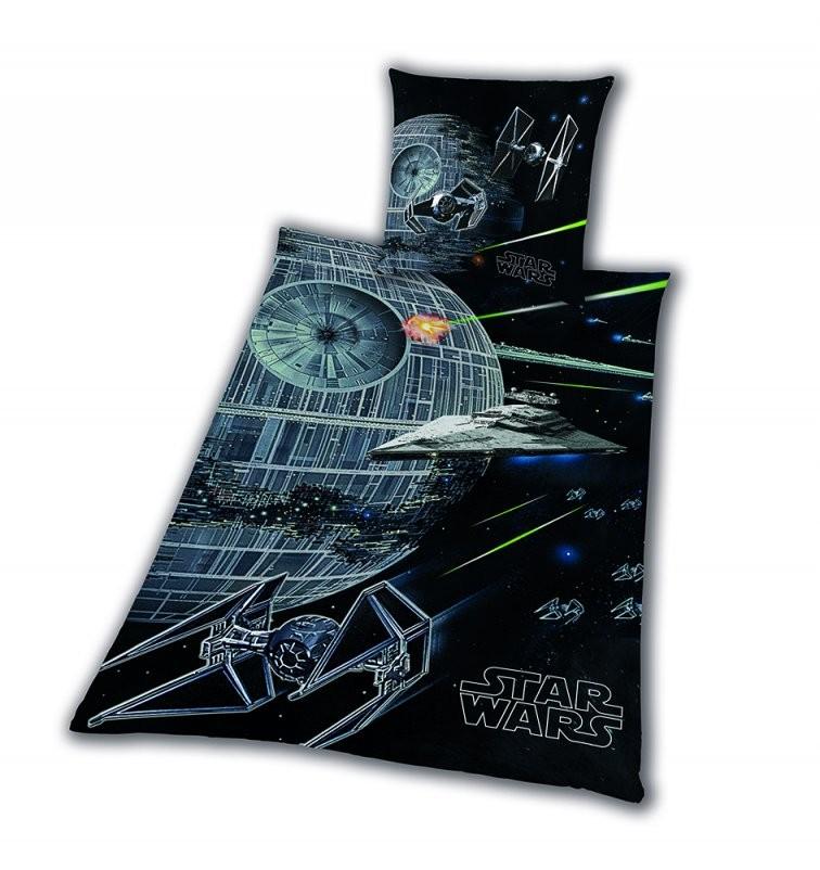 Bettwäsche Glatt Star Wars 8 Todesstern Rey Finn Tico Yoda 155 X 220 von Star Wars Bettwäsche 155X220 Photo