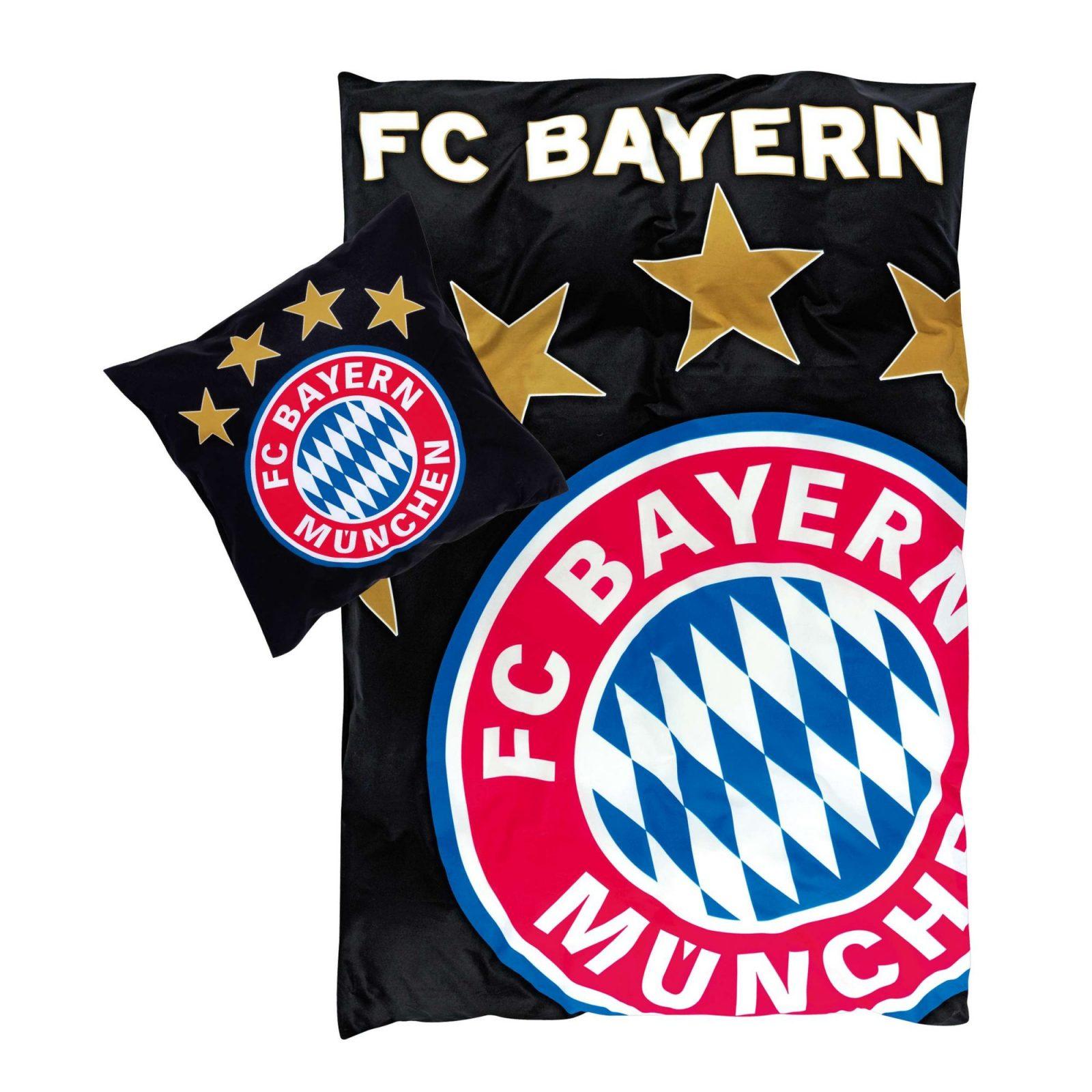 Bettwäsche Glow In The Dark  Offizieller Fc Bayern Fanshop von Fc Bayern Bettwäsche Biber Photo