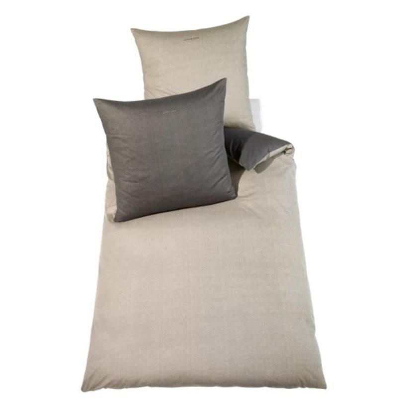 Bettwäsche Grau Günstig Online Kaufen  Real von Biber Bettwäsche 220X240 Günstig Bild