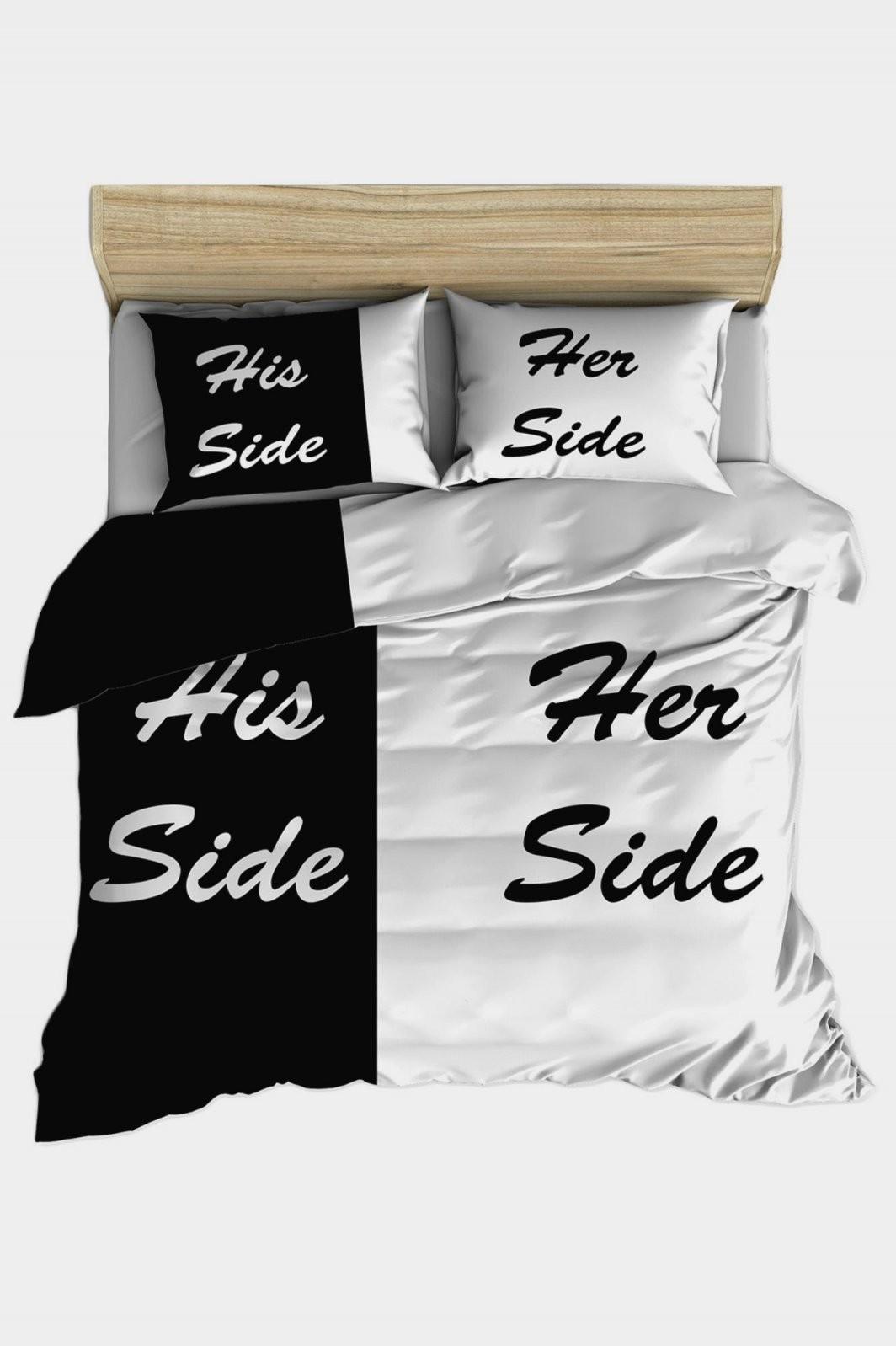 Bettwäsche His Side Her Side  Dekorieren Bei Das Haus von Bettwäsche His Side Her Side Bild