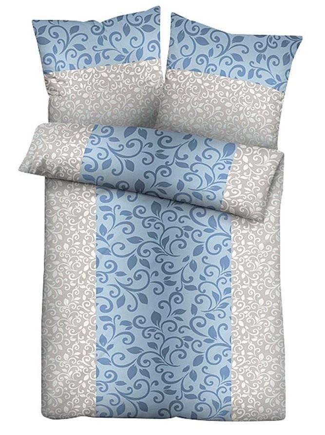 Bettwäsche In Blau Online Kaufen  Witt Weiden – 748997003 von Bettwäsche 155X220 Jersey Reißverschluss Photo
