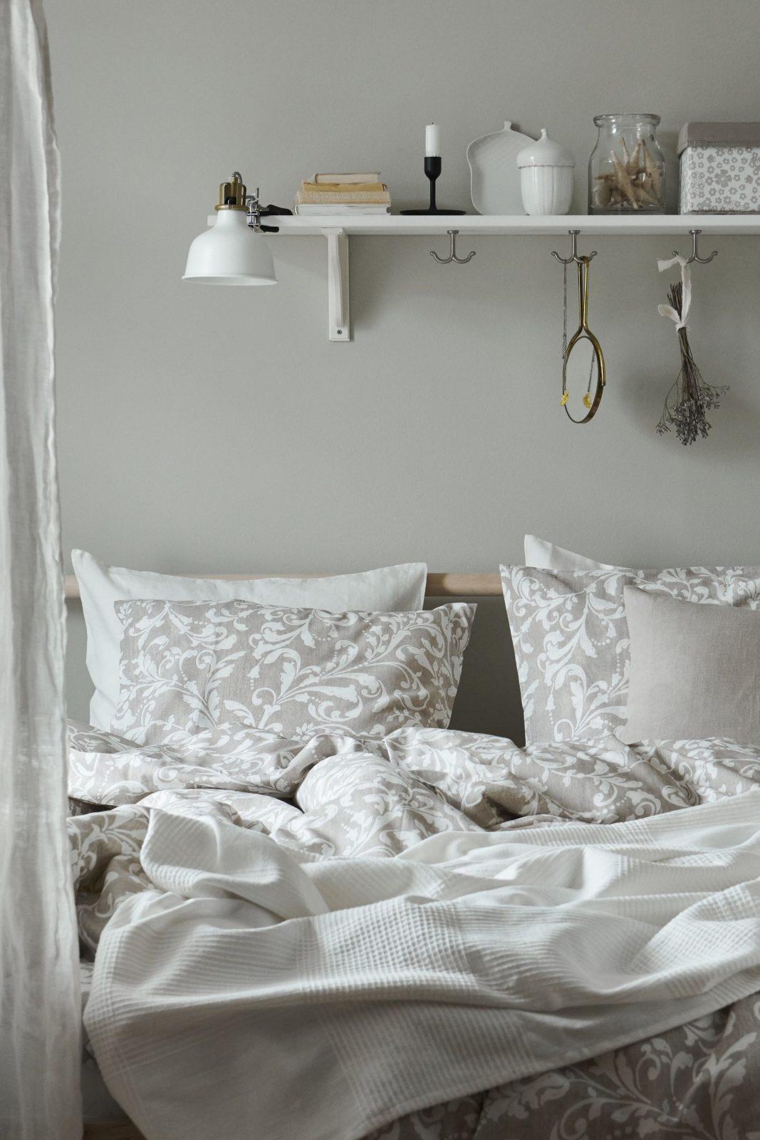 Bettwäscheset 2Teilig Jättevallmo Weiß Grau  Ri  Bedroom von Ikea Bettwäsche Grau Weiß Photo