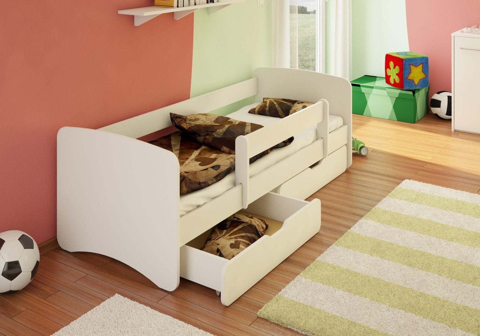 Bfk Best For Kids Kinderbett Jugendbett Weiß Weiss Rausfallschutz von Kinderbett Weiss Mit Schublade Bild