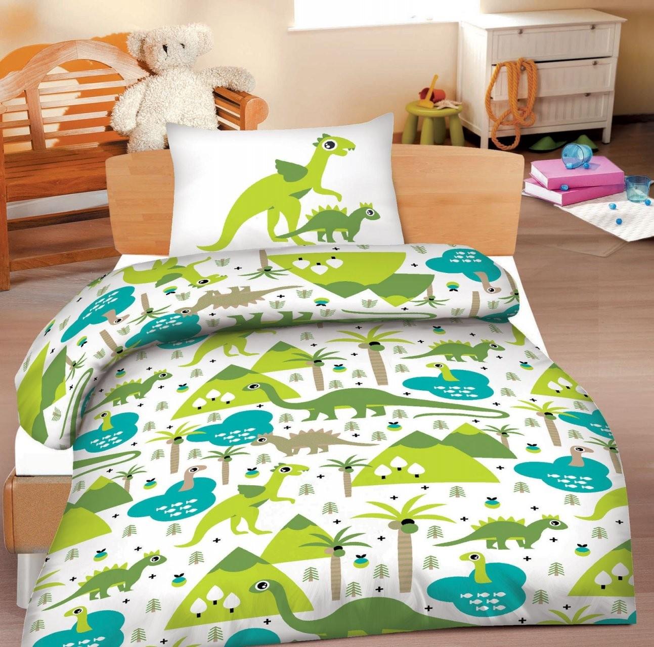 Biber Kinderbettwäsche Bettwäsche 100X135 Dinos 398070  Bettwäsche von Bettwäsche 100X135 Biber Photo