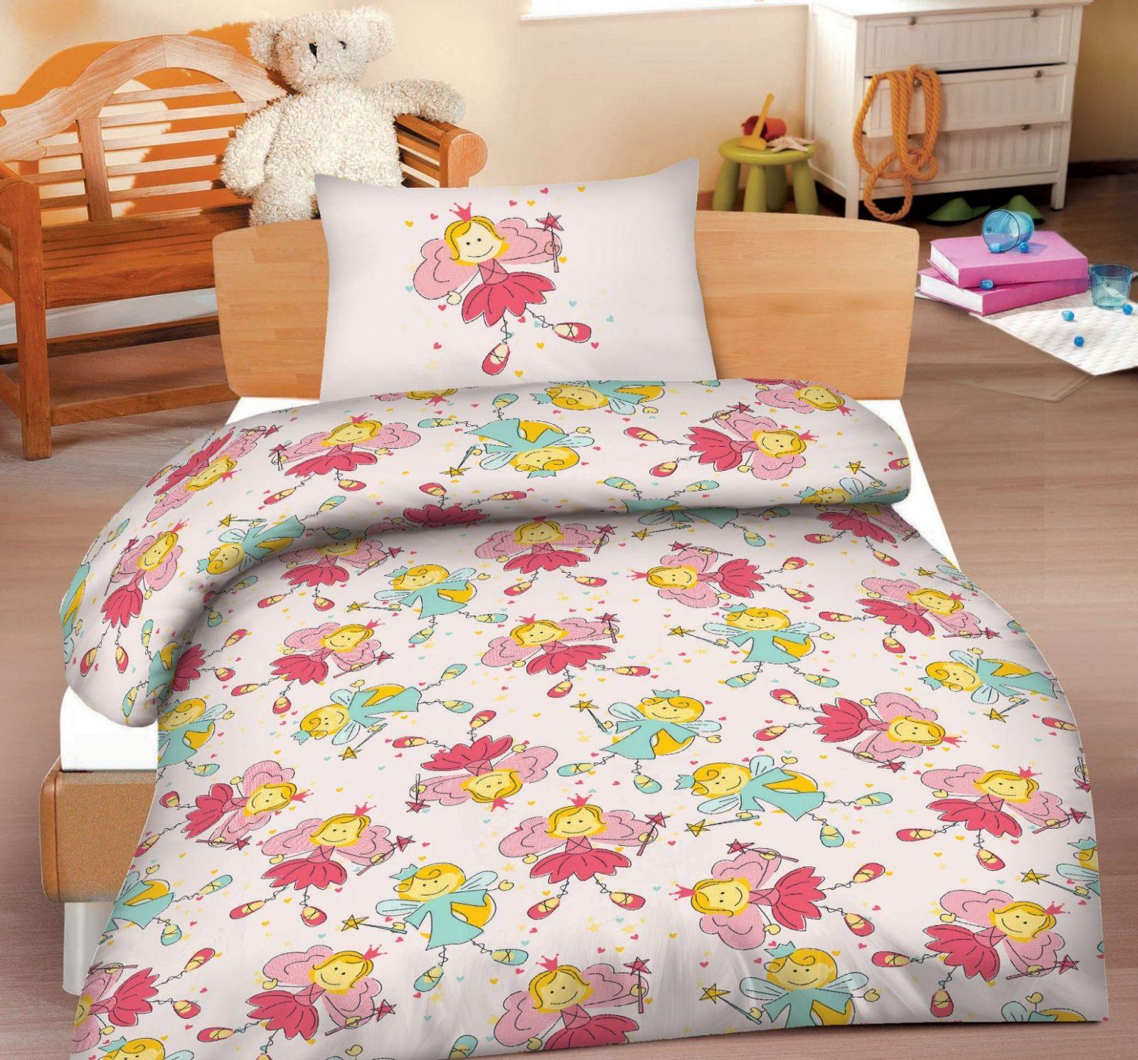 Biber Kinderbettwäsche Bettwäsche 100X135 Feen 398060  Bettwäsche von Bettwäsche 100X135 Biber Bild