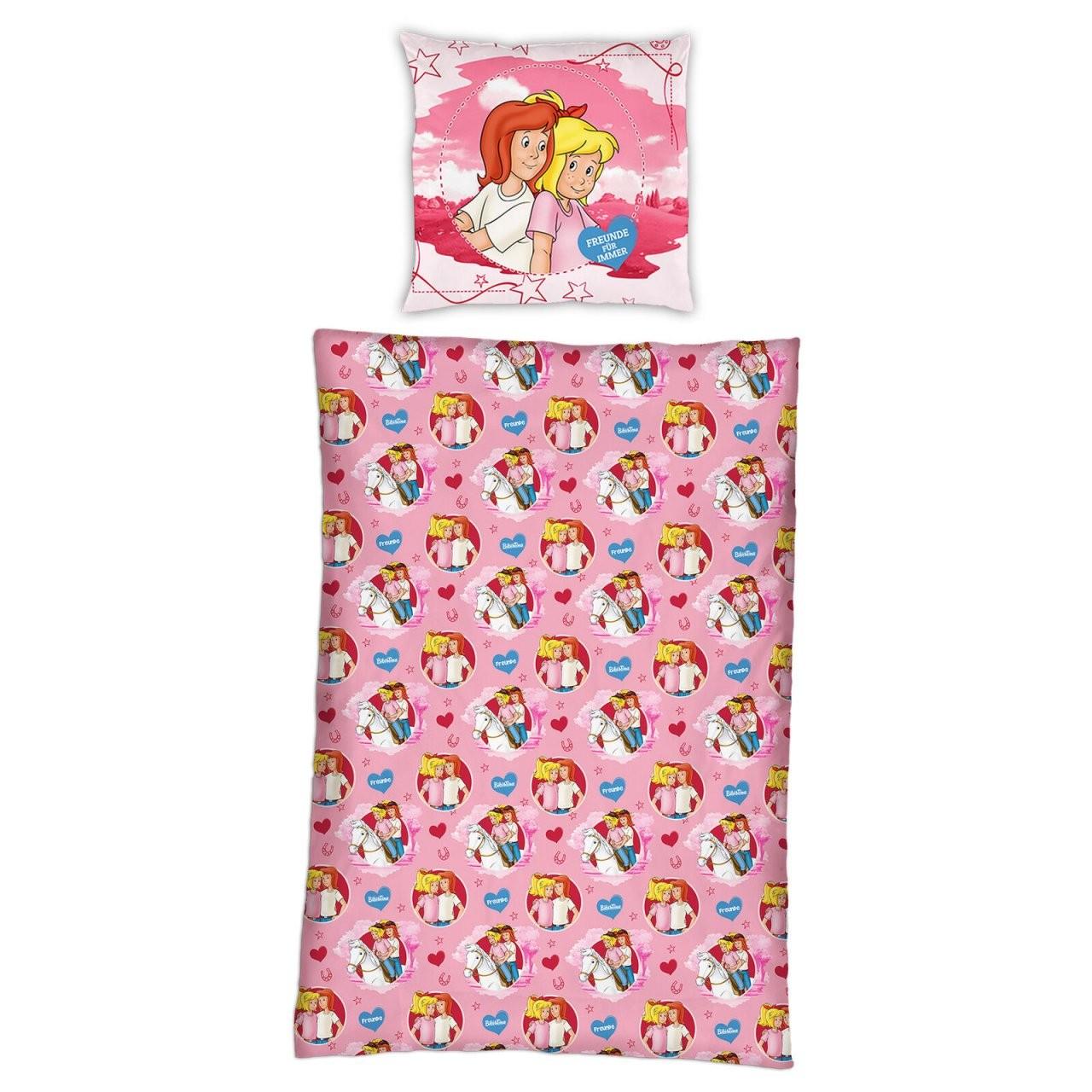 Bibi Und Tina Biber Kinderbettwäsche 135X200 Cm Bettzeug Flanell von Bettwäsche Bibi Und Tina Bild