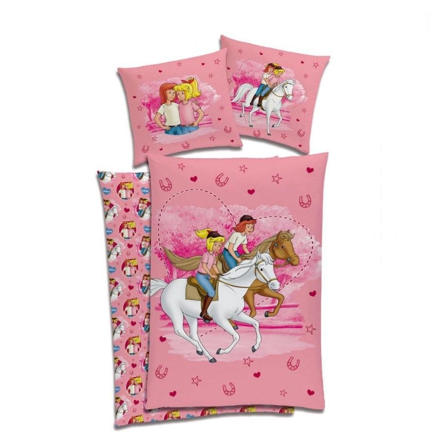 Bibi Und Tina Kinder Bettwäsche 135X200 Bettzeug Kinderbettwäsche von Bibi Und Tina Bettwäsche 135X200 Bild