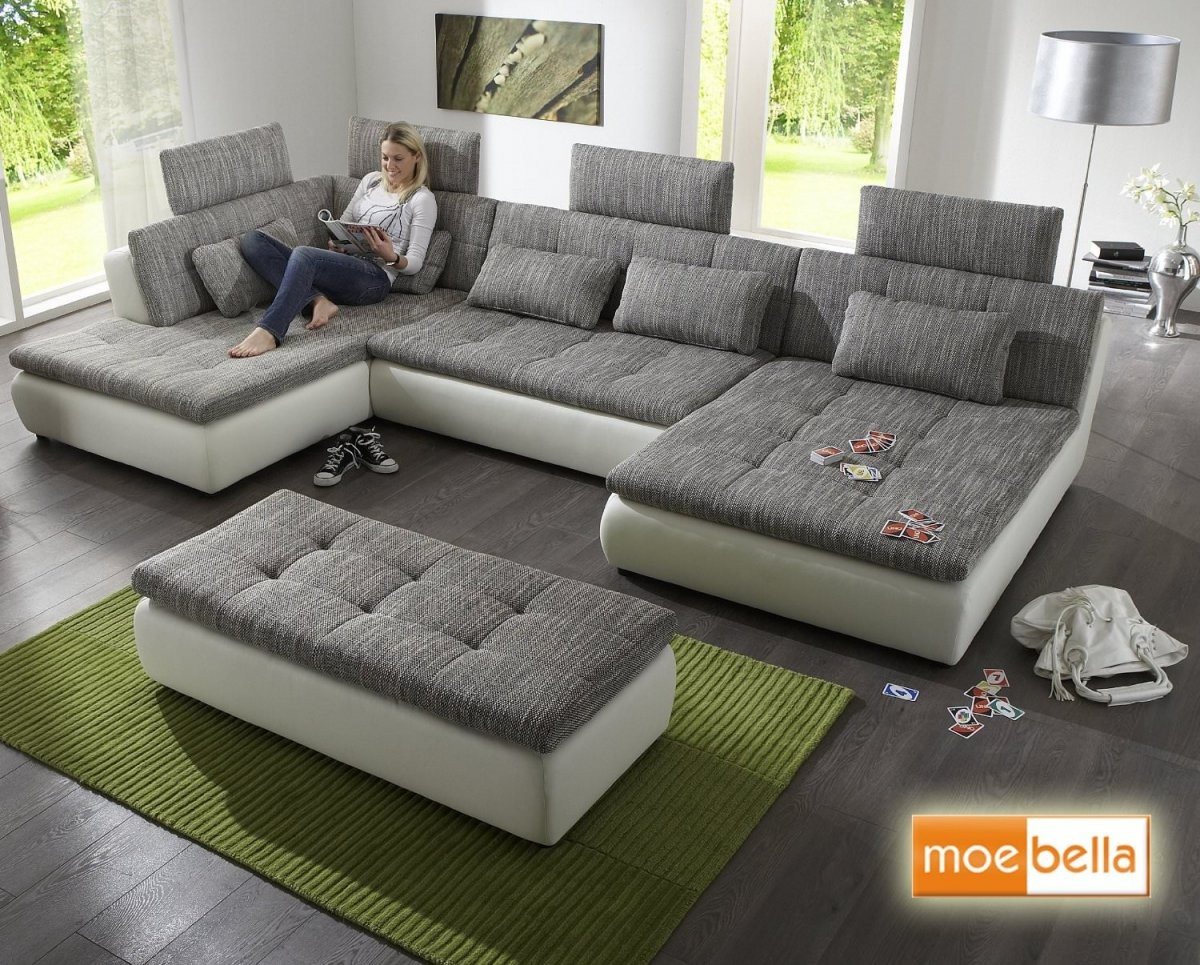 Big Sofa Mit Bettfunktion ++ Besonderes Sofa ++ Testsieger ++ von Big Sofa Mit Schlaffunktion Und Bettkasten Bild
