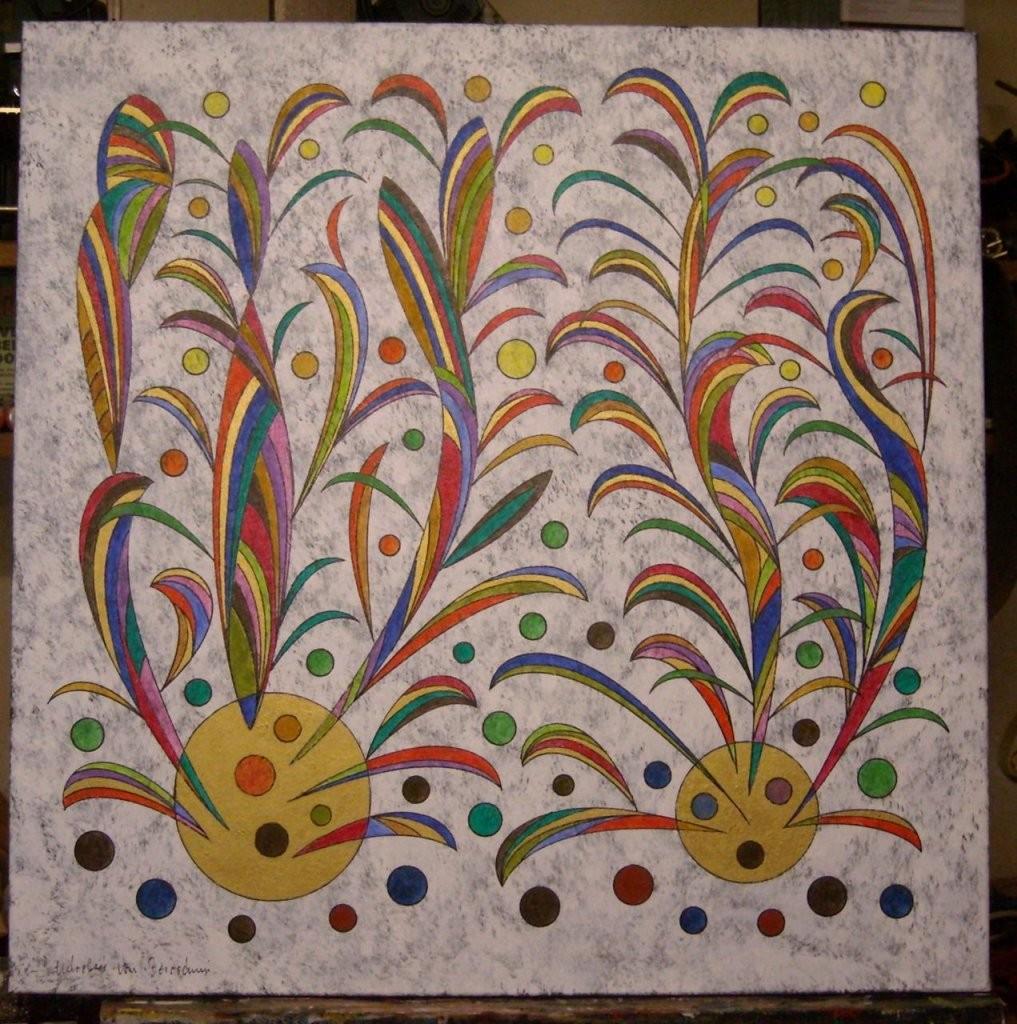 Bild  Abstrakt Acrylmalerei Leinwand Auf Keilrahmen Preis Vh Von von Bilder Leinwand Abstrakt Keilrahmen Bild