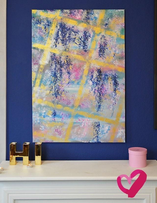 Bilder Auf Leinwand Malen Abstrakte Bilder Selber Malen Leinwand von Abstrakte Acrylbilder Selber Malen Bild