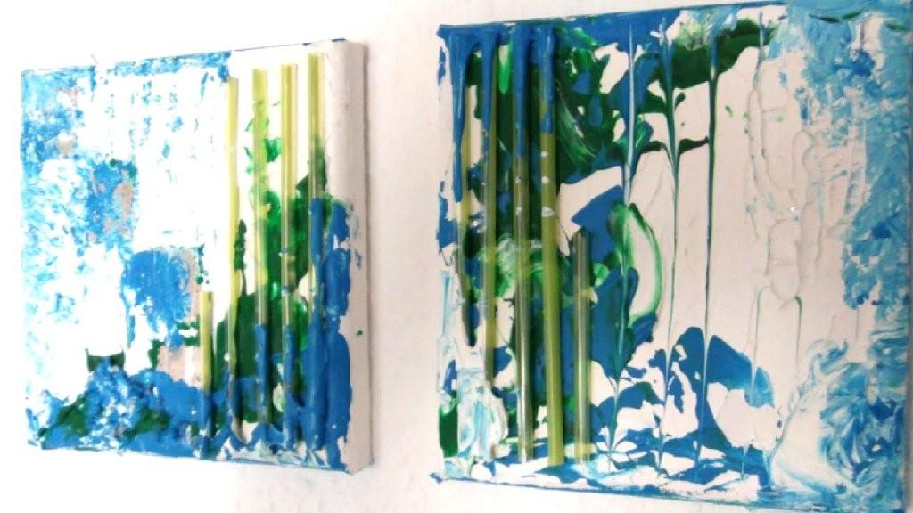 Bilder Auf Leinwand Malen Abstrakte Bilder Selber Malen Leinwand von Acrylbilder Abstrakt Selber Malen Bild