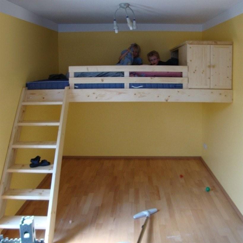 Bildergebnis Für Hochbett Selber Bauen  Bett Gästezimmer  Hochbett von Hochbett Selber Bauen 90X200 Bild
