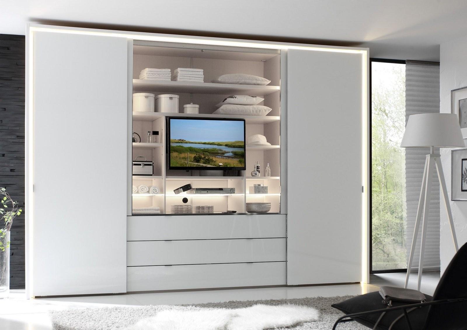 Bildergebnis Für Kleiderschrank Tv Fach  Schlafzimmer von Kleiderschrank Mit Tv Fach Photo