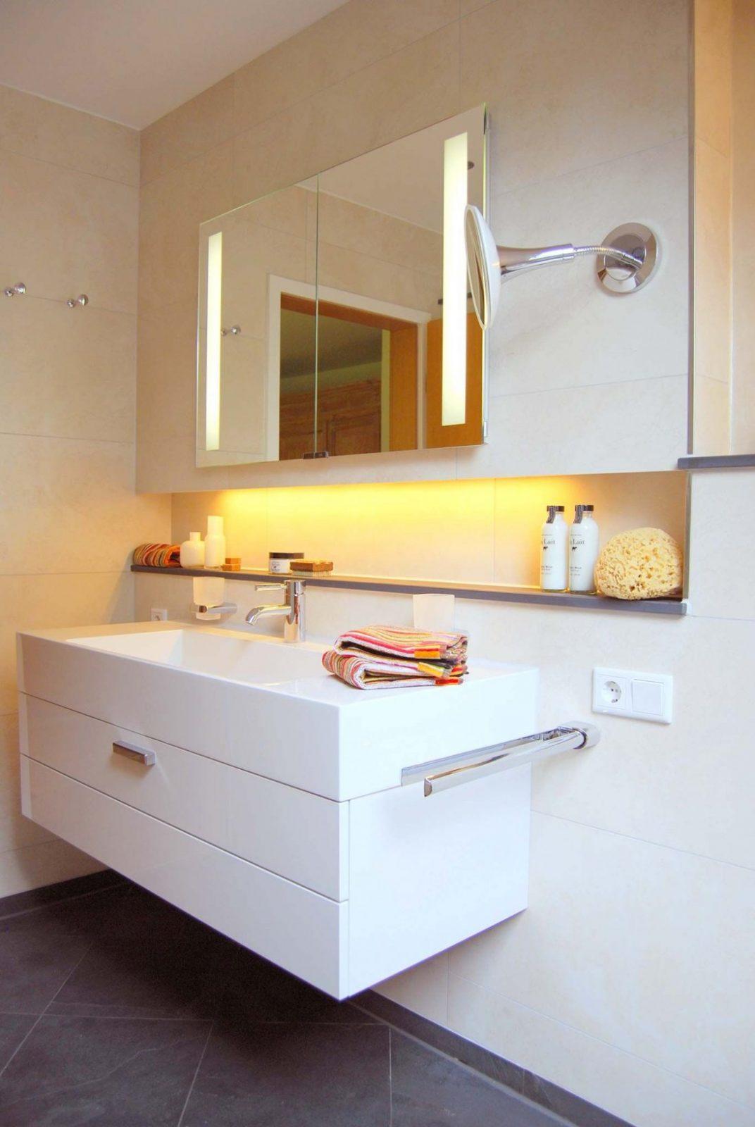 Bildergebnis Für Spiegelschrank Vormauerung  Bad In 2019 von Spiegelschrank Für Kleines Bad Photo