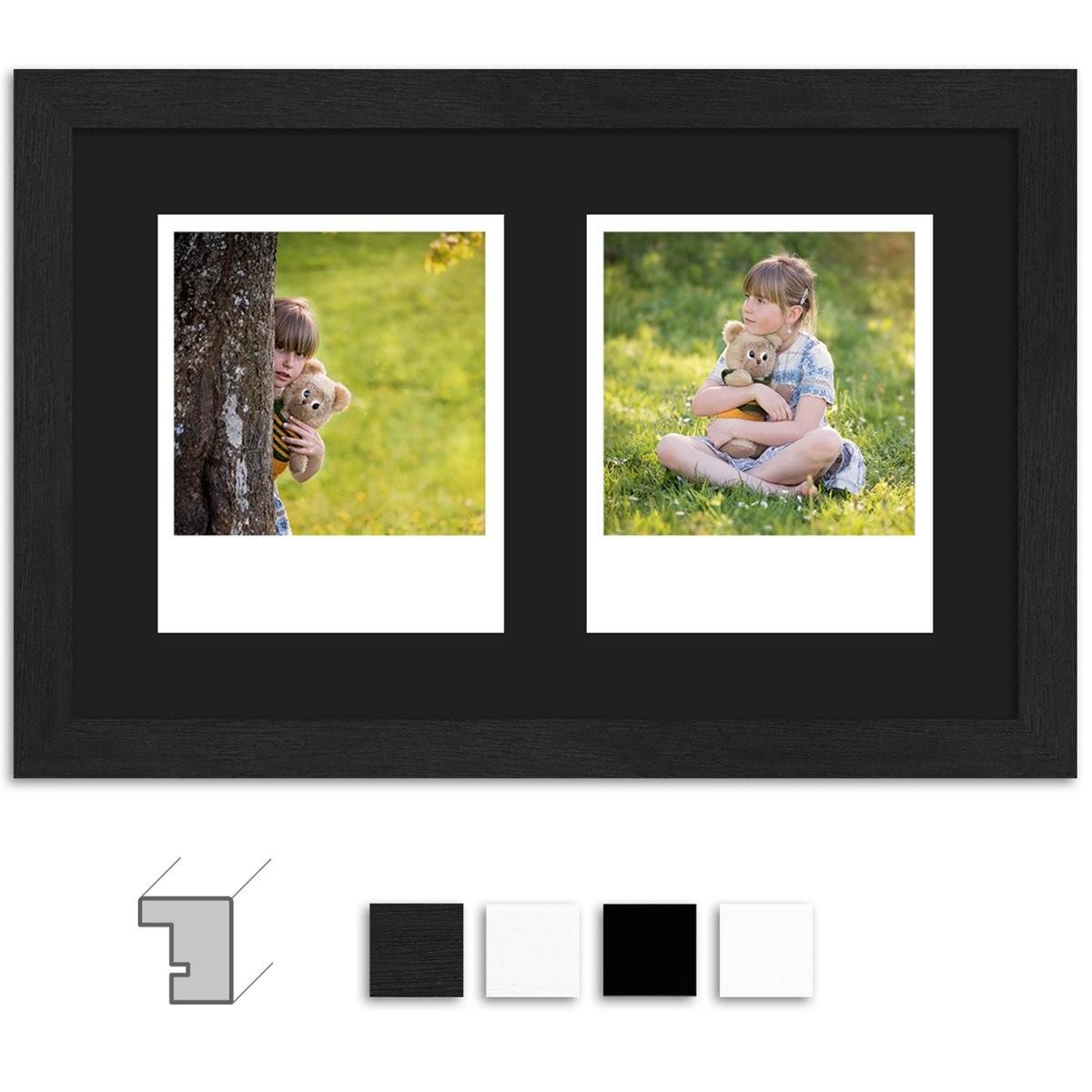 Bilderrahmen Collage ☆ Online Bestellen  Wandstyle von Leinwand Collage Erstellen Günstig Bild
